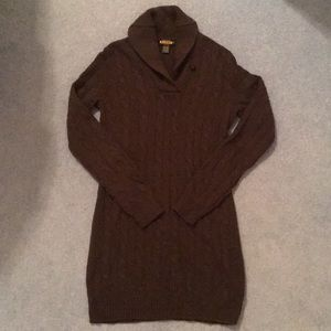 Ralph Lauren Rugby Sweater Dress Size S